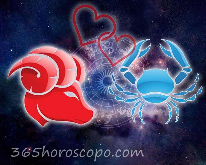 Cáncer Aries horoscopo Compatibilidad