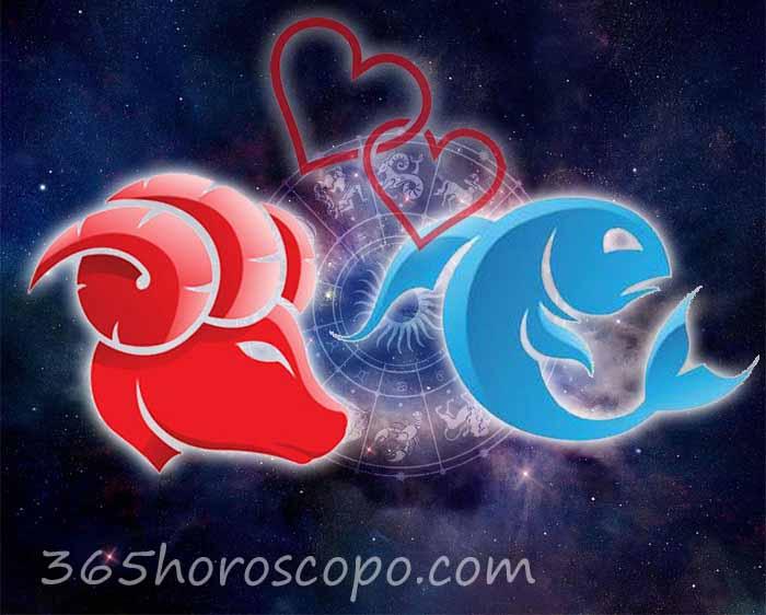 Piscis Aries horoscopo Compatibilidad