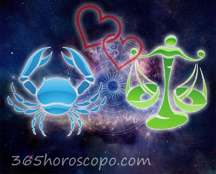 Libra Cáncer horoscopo Compatibilidad