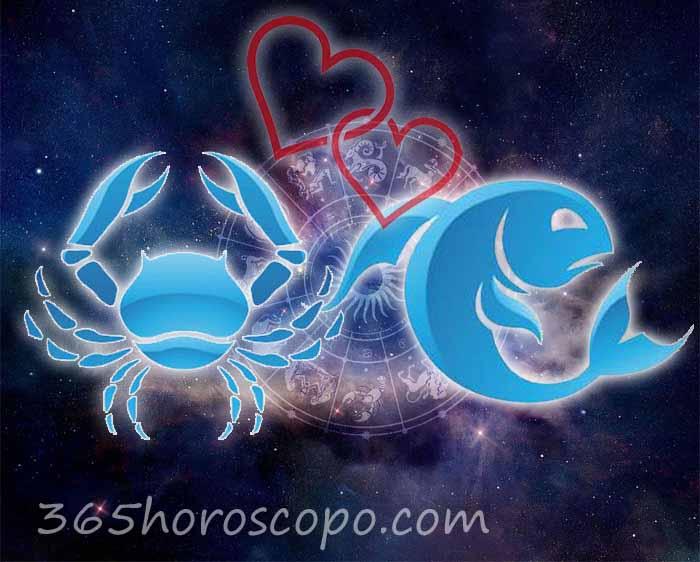 Piscis Cáncer horoscopo Compatibilidad