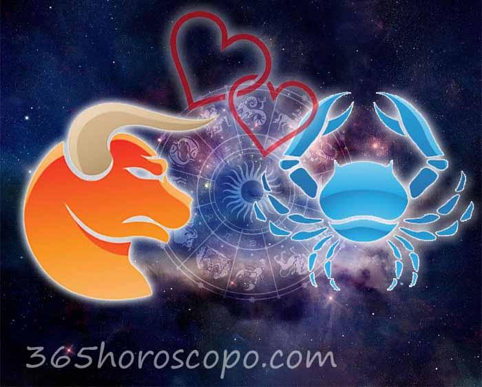 Cáncer Tauro horoscopo Compatibilidad