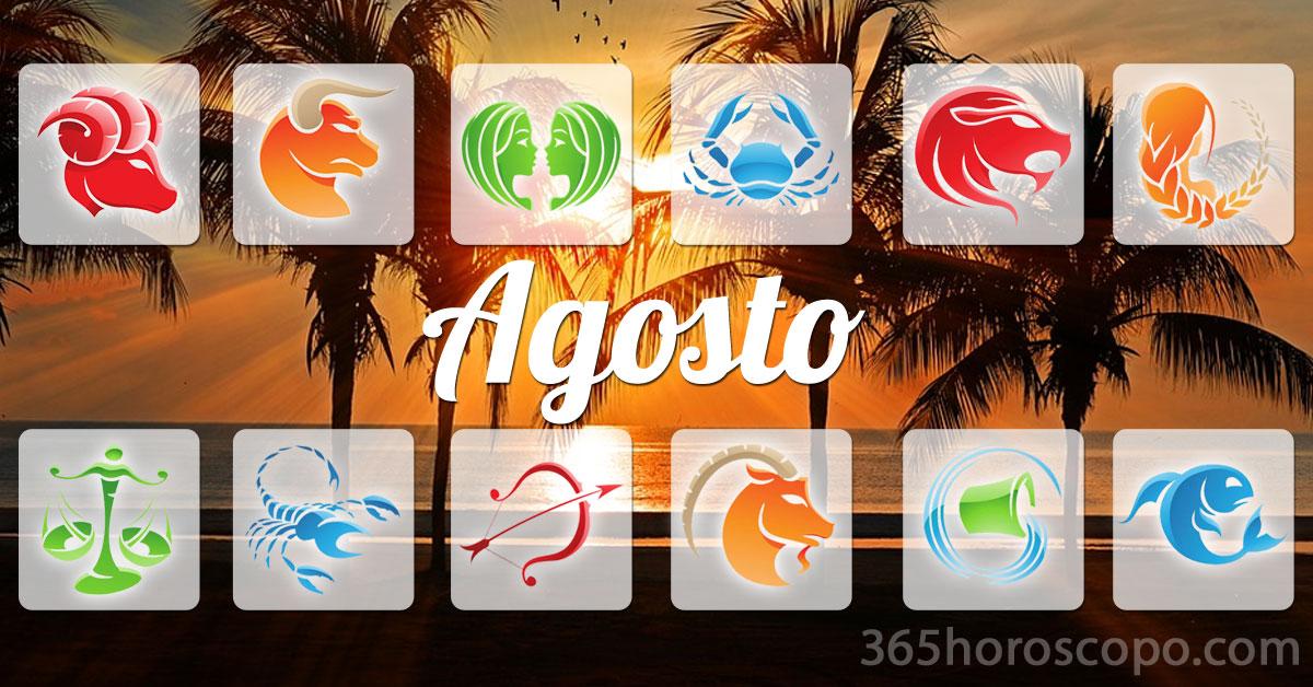 Agosto 2019 horoscopo