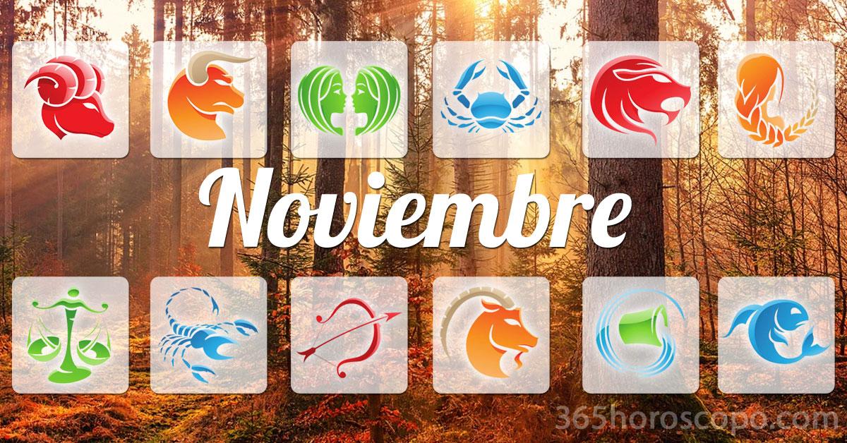 Noviembre 2019 horoscopo