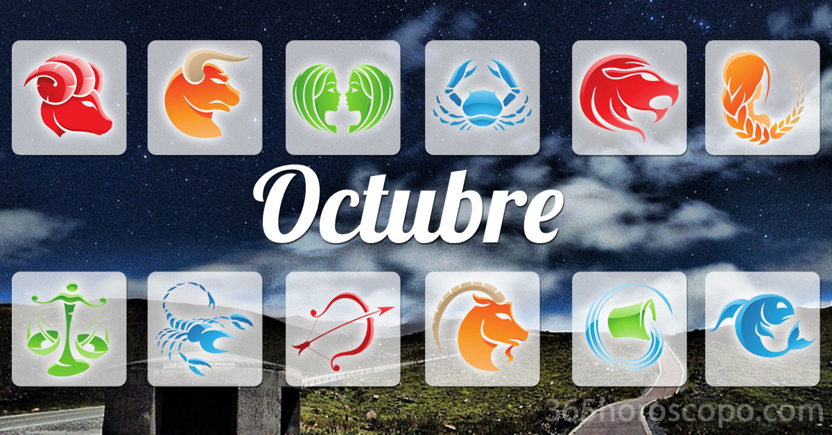 Octubre 2022 horoscopo