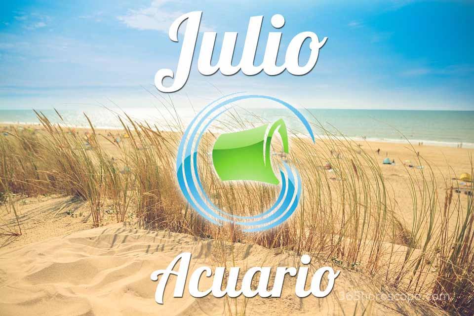 Acuario horóscopo Julio