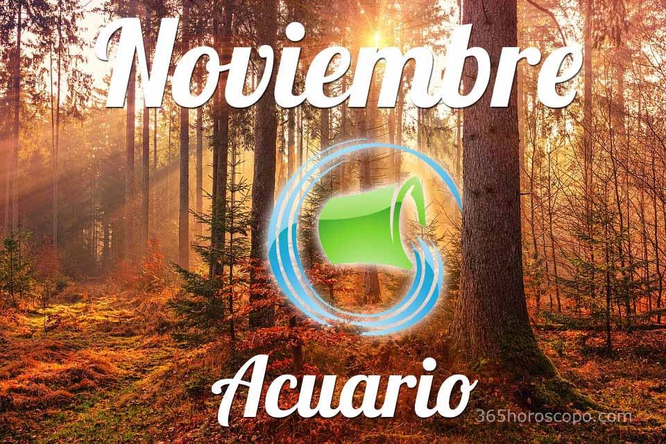 Acuario Noviembre 2020