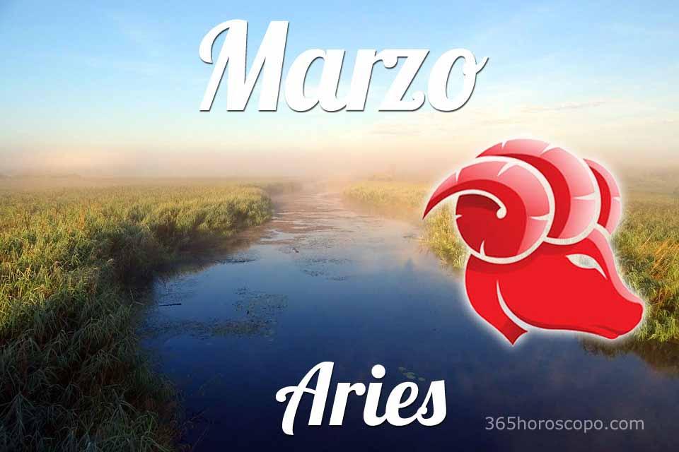 Aries horóscopo Marzo