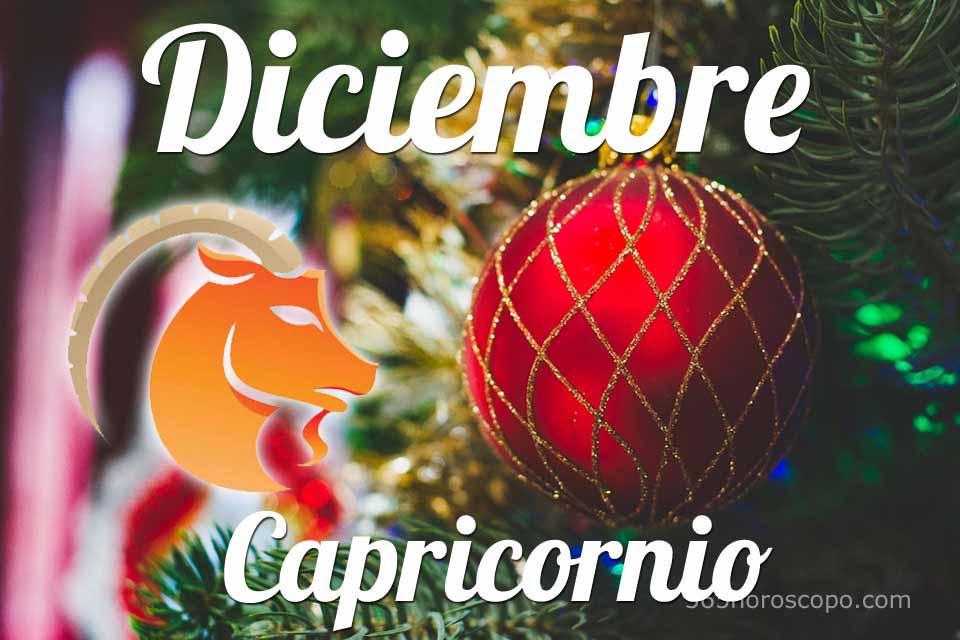 Capricornio horóscopo Diciembre