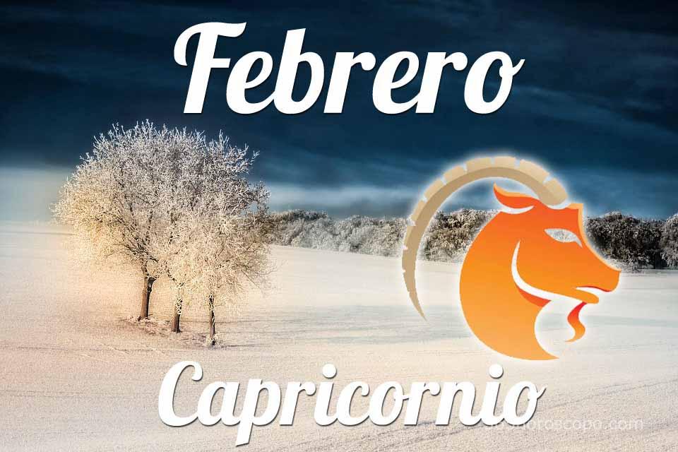 Capricornio horóscopo Febrero