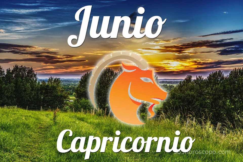 Capricornio horóscopo Junio