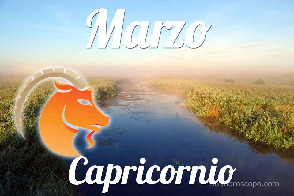 Capricornio horóscopo Marzo
