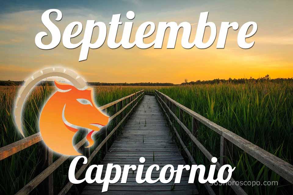 Capricornio Septiembre 2020