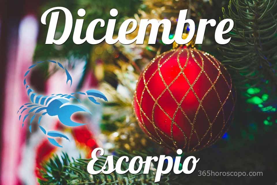 Escorpio horóscopo Diciembre