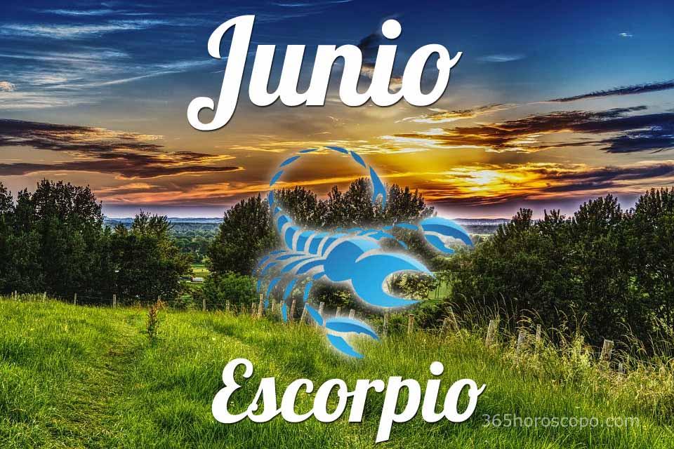 Escorpio horóscopo Junio