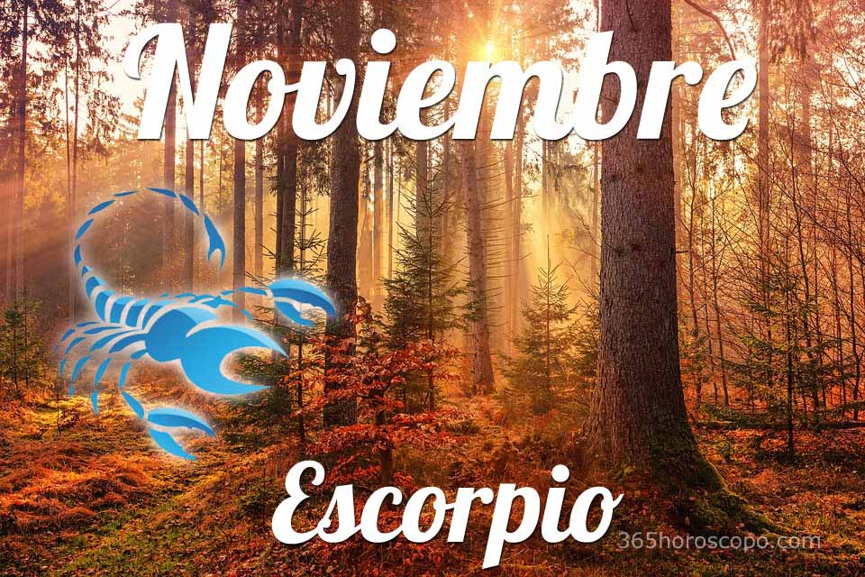 Escorpio Noviembre 2020
