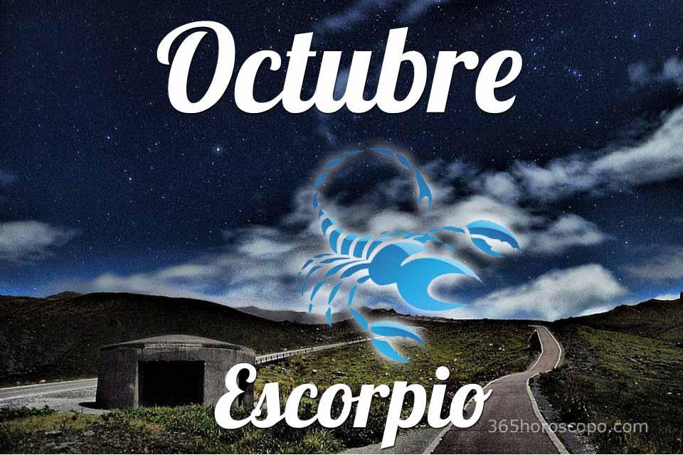 Escorpio horóscopo Octubre