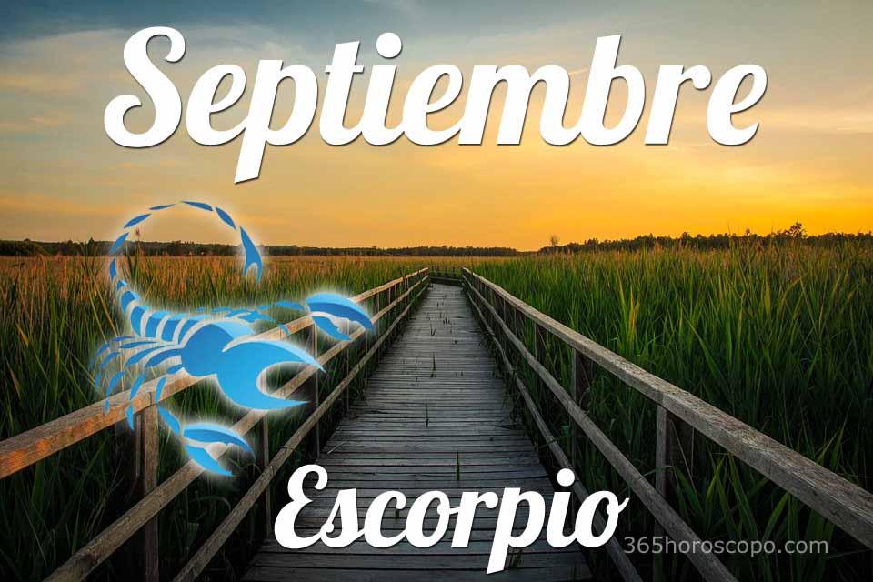 Escorpio Septiembre 2020
