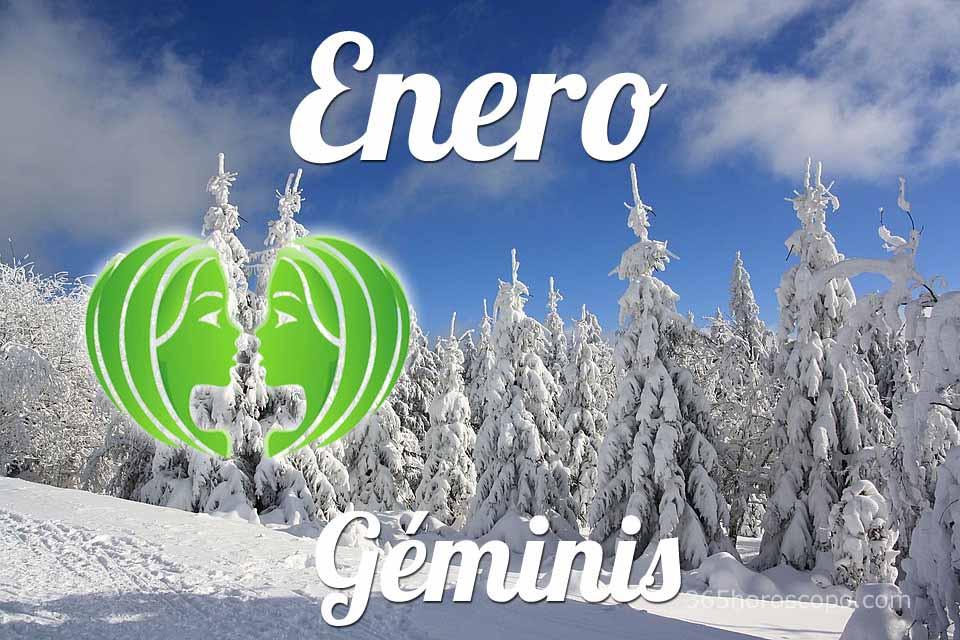 Géminis horóscopo Enero