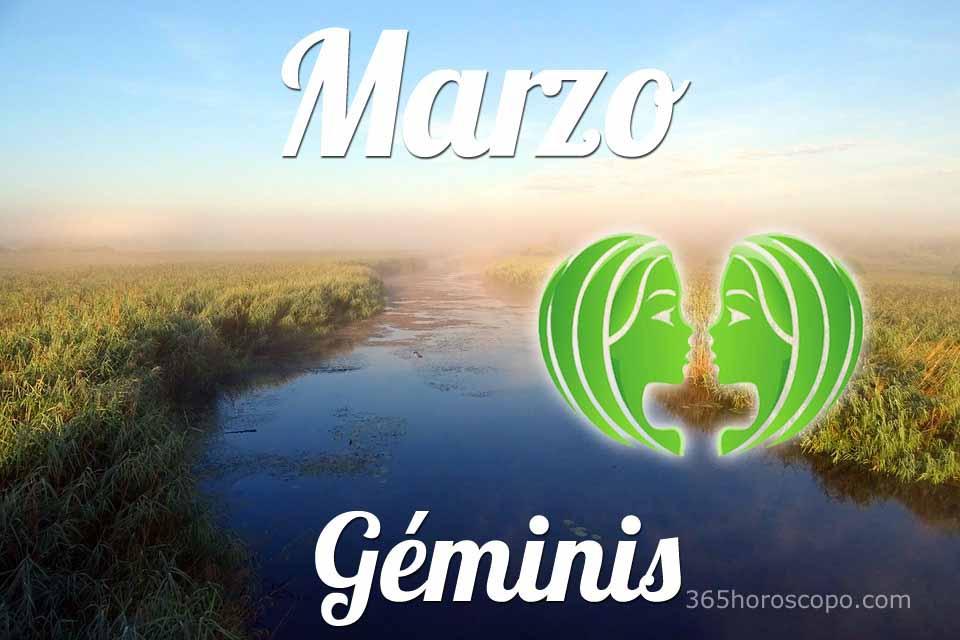 Géminis horóscopo Marzo