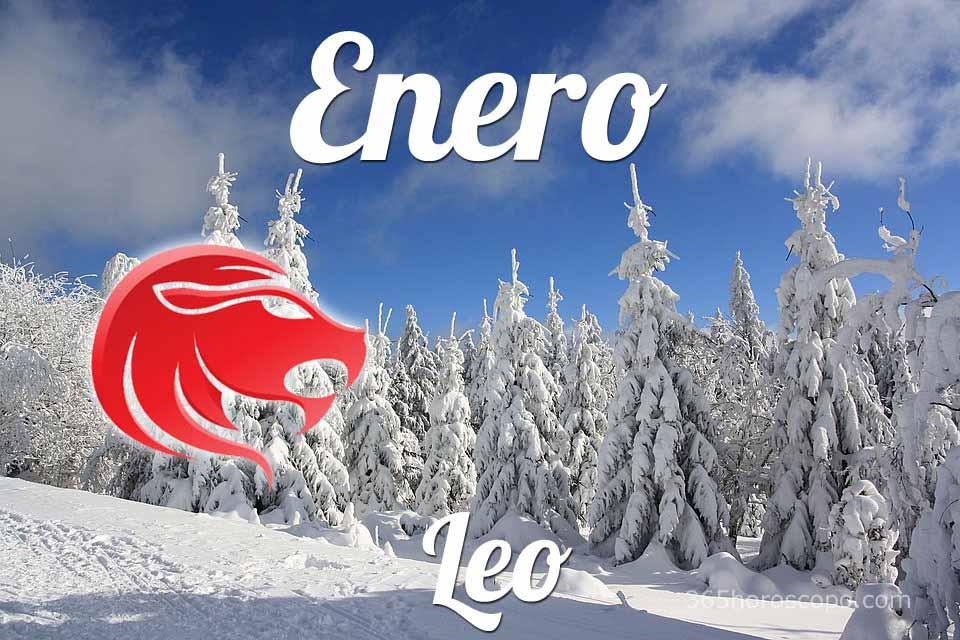 Leo horóscopo Enero