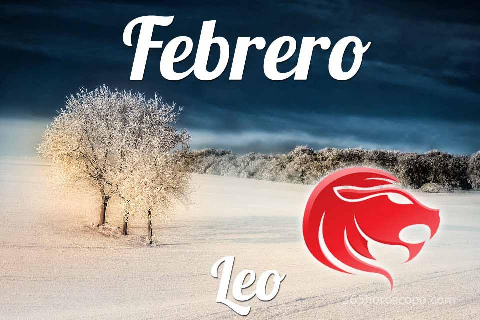 Leo horóscopo Febrero