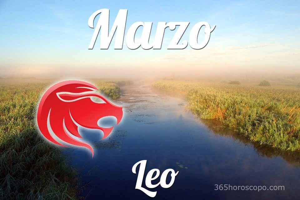 Leo horóscopo Marzo