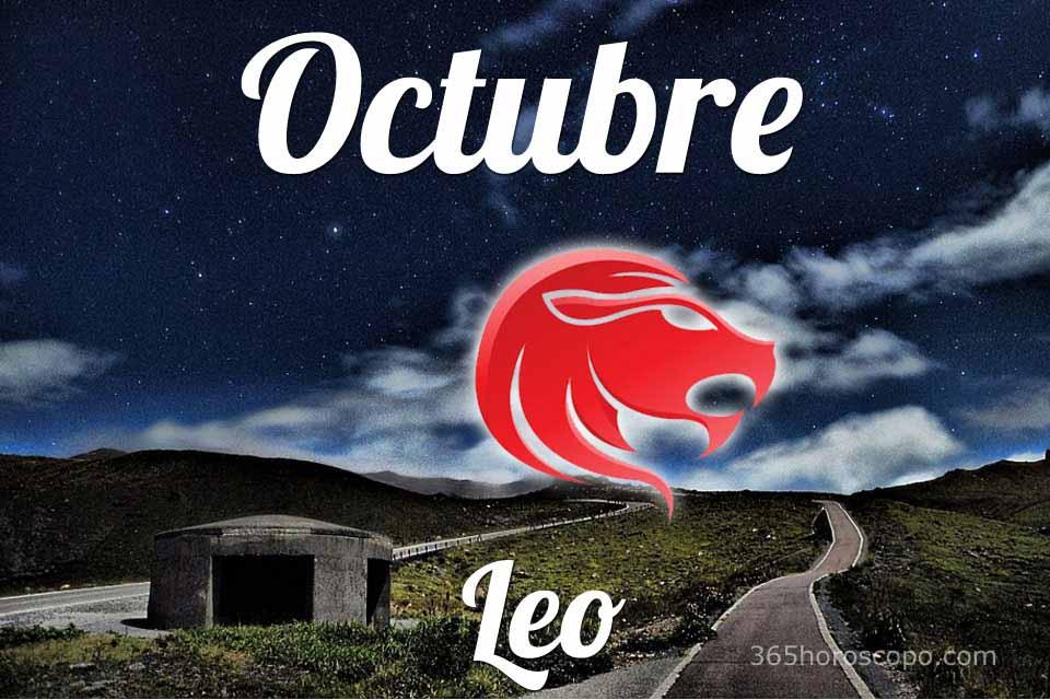 Leo horóscopo Octubre