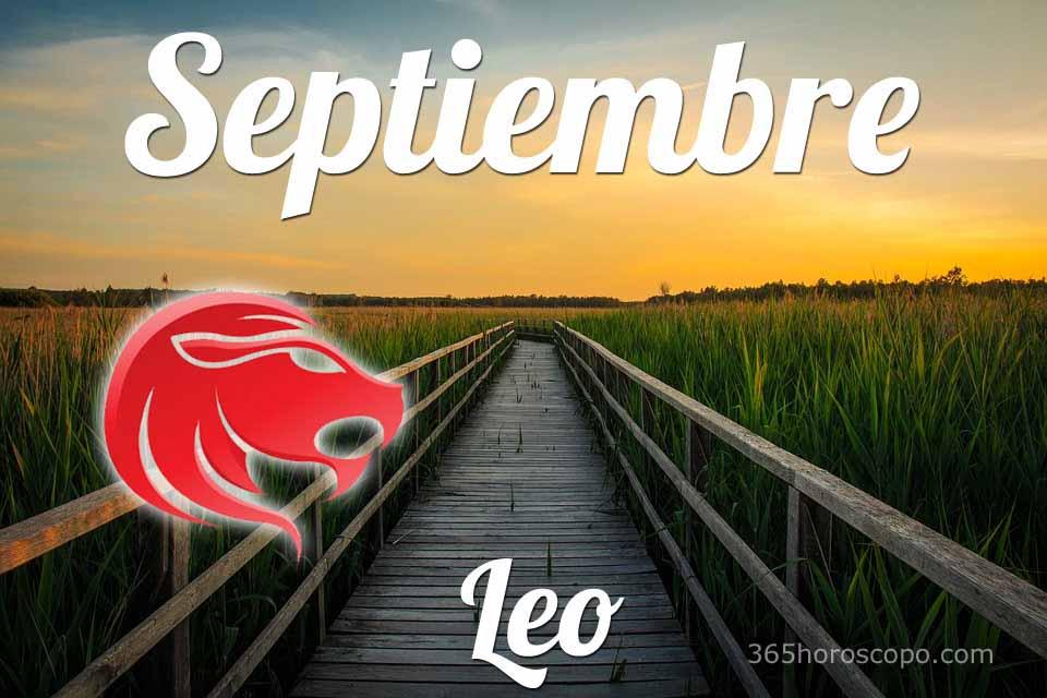 Leo horóscopo Septiembre