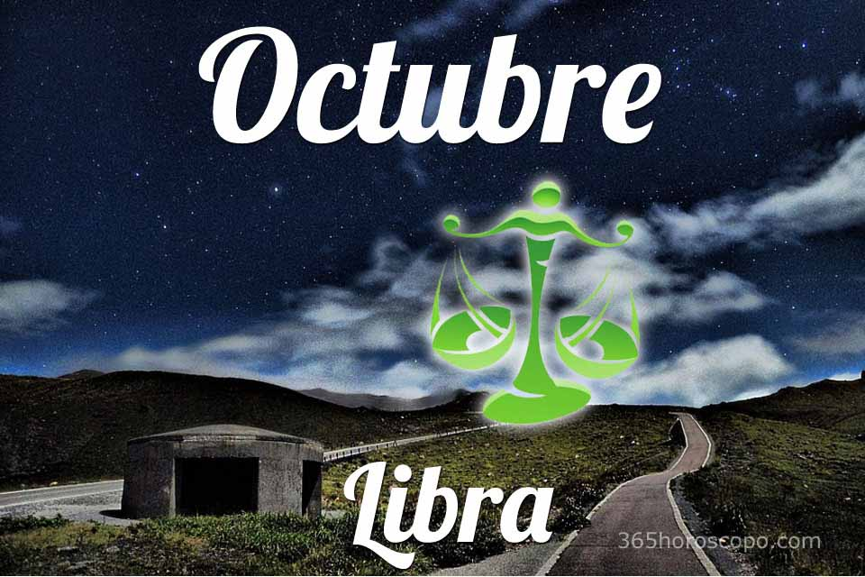 Libra horóscopo Octubre