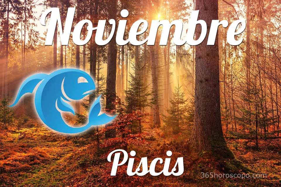 Piscis horóscopo Noviembre