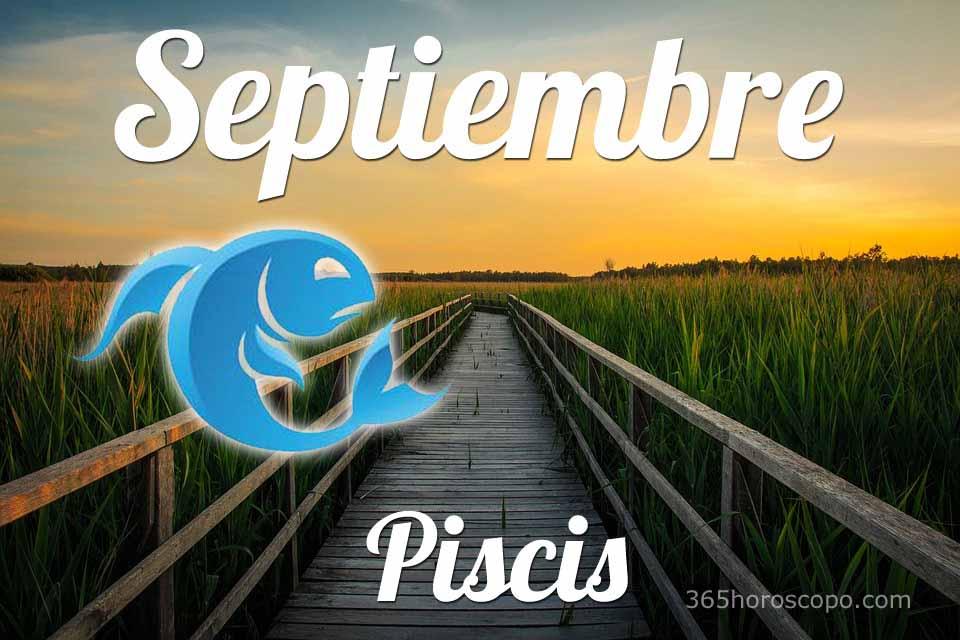 Piscis horóscopo Septiembre