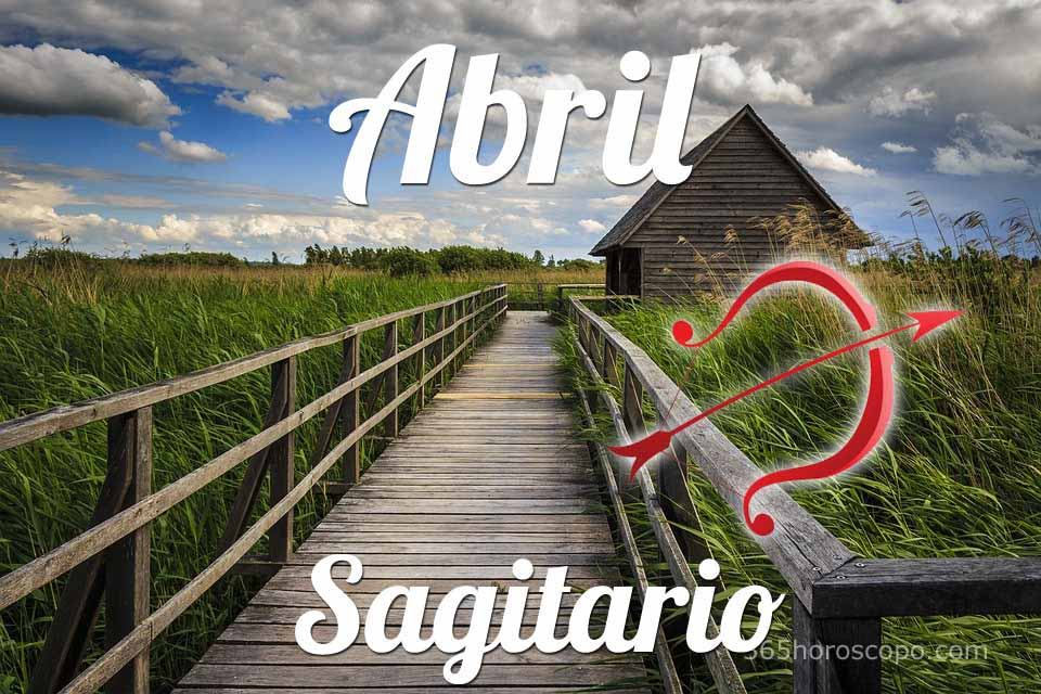 Sagitario Abril 2019