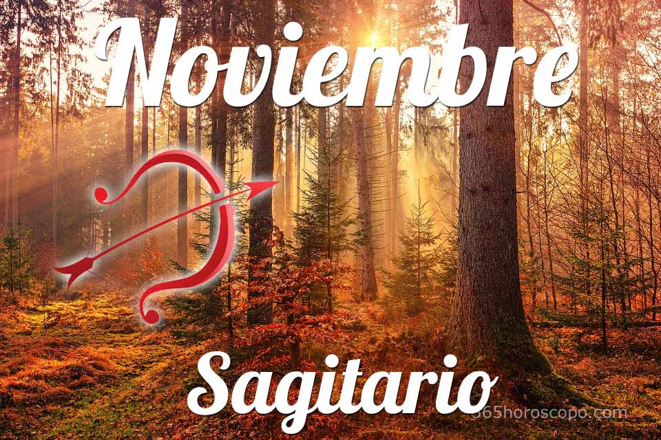 Sagitario horóscopo Noviembre