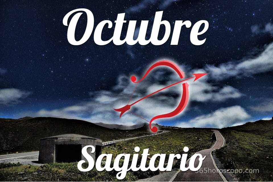 Sagitario horóscopo Octubre