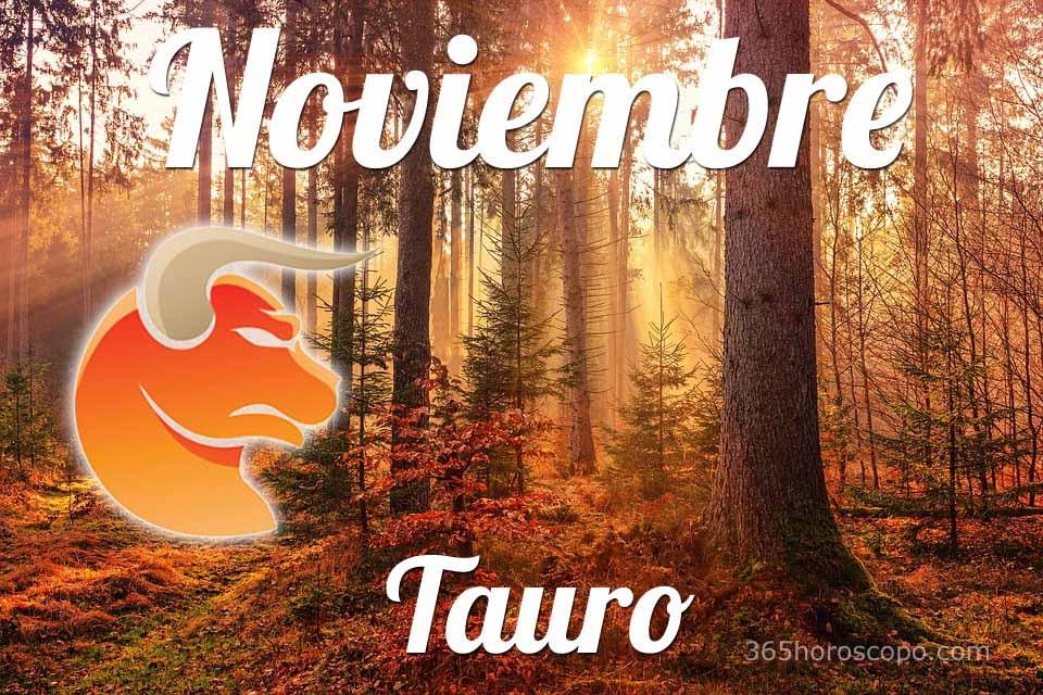 Tauro horóscopo Noviembre