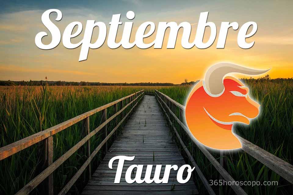 Tauro horóscopo Septiembre