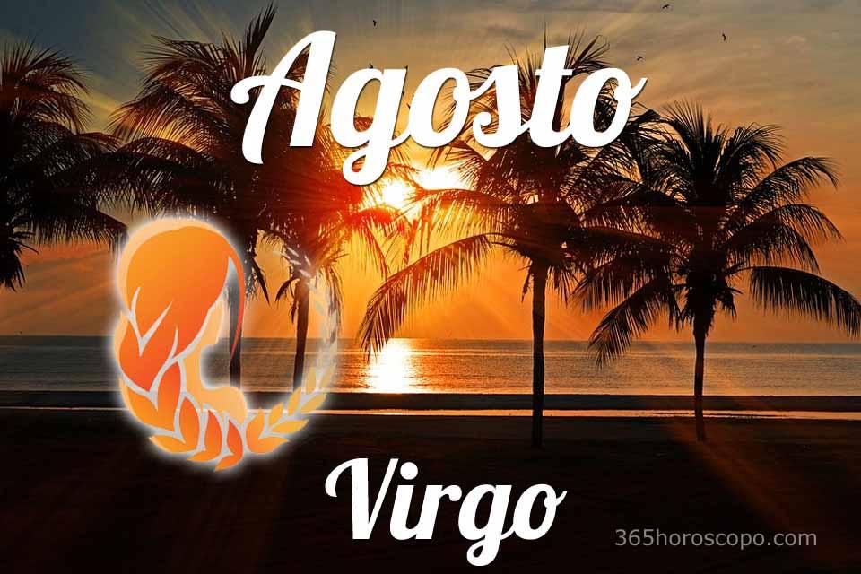 Virgo horóscopo Agosto