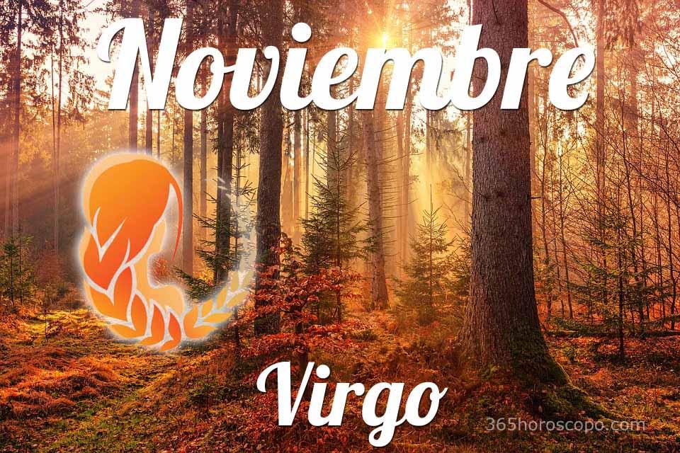 Virgo horóscopo Noviembre