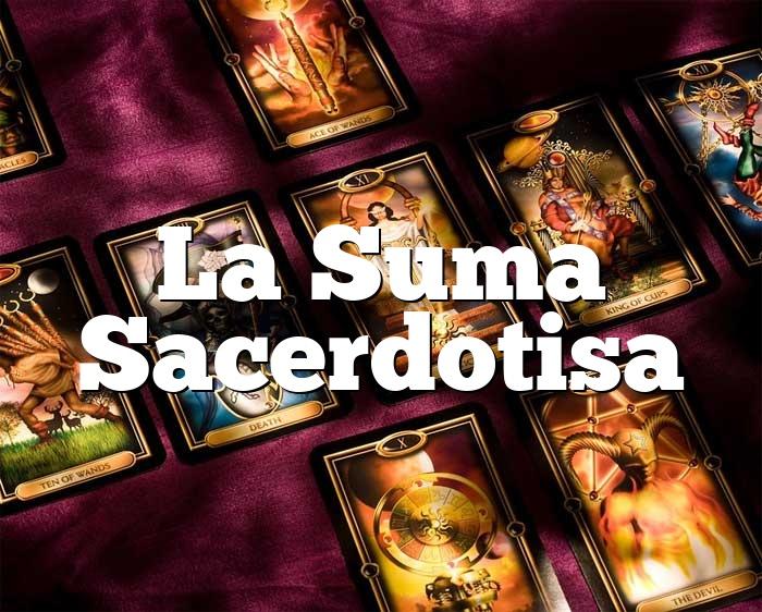 La Suma Sacerdotisa