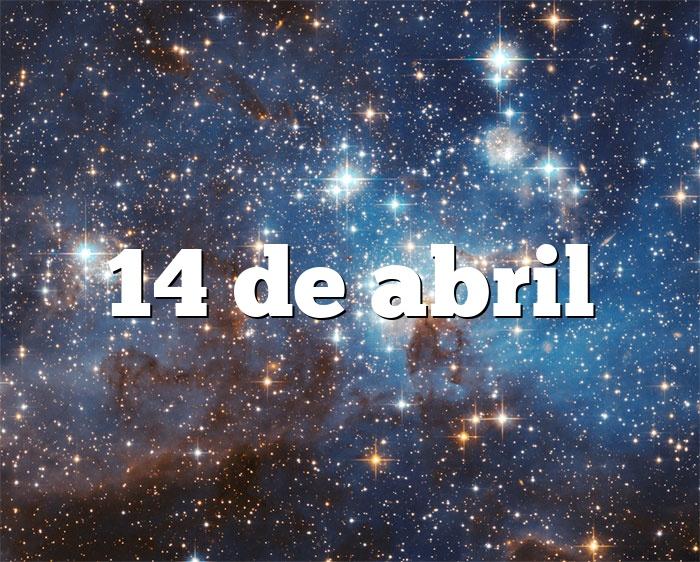14 de abril