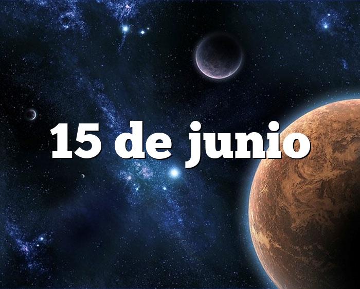 15 de junio
