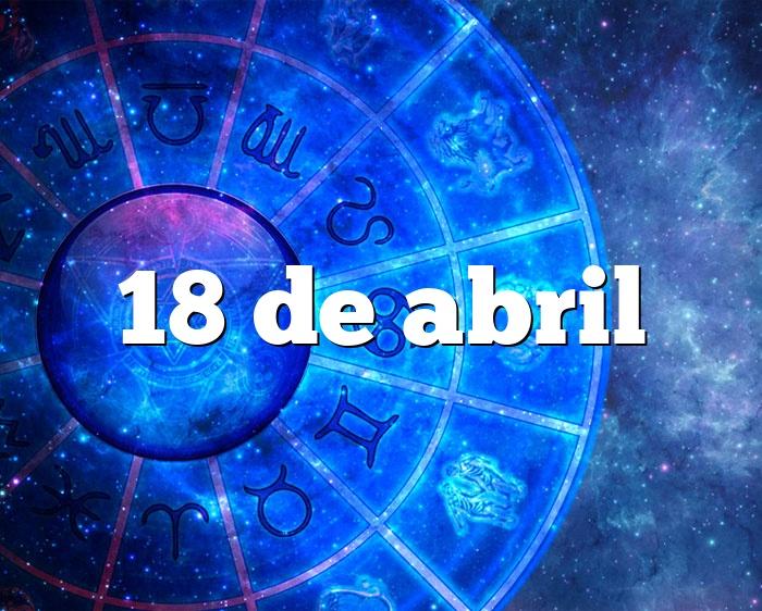 18 de abril