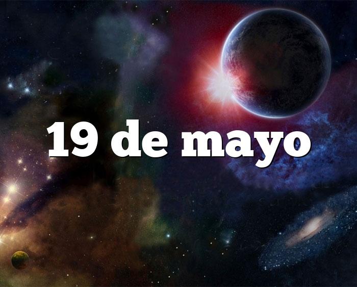 19 de mayo
