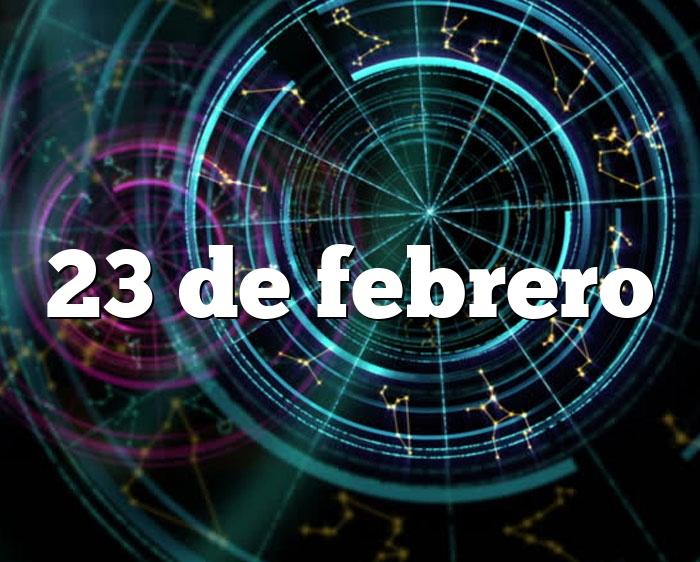 23 de febrero