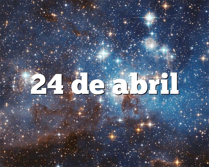 24 de abril