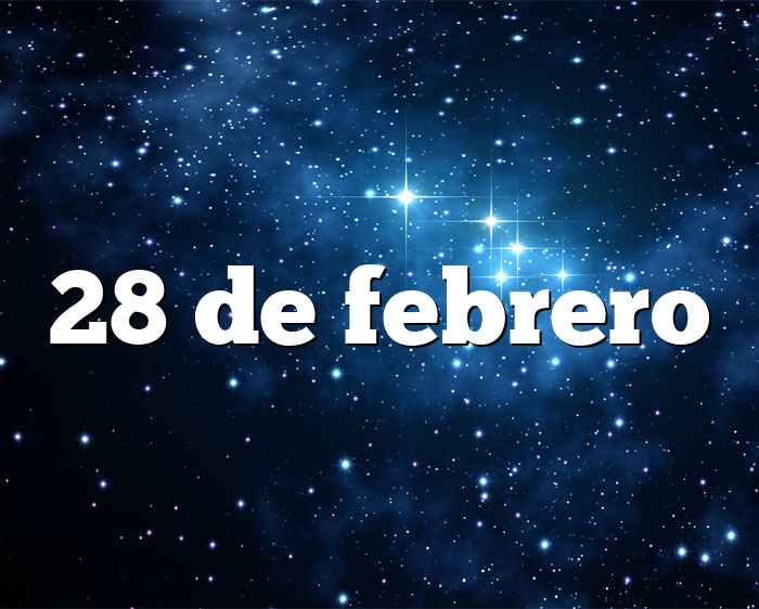 28 de febrero