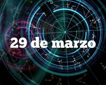 29 de marzo