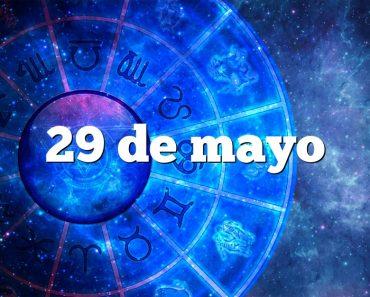 29 de mayo