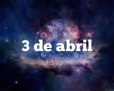 3 de abril