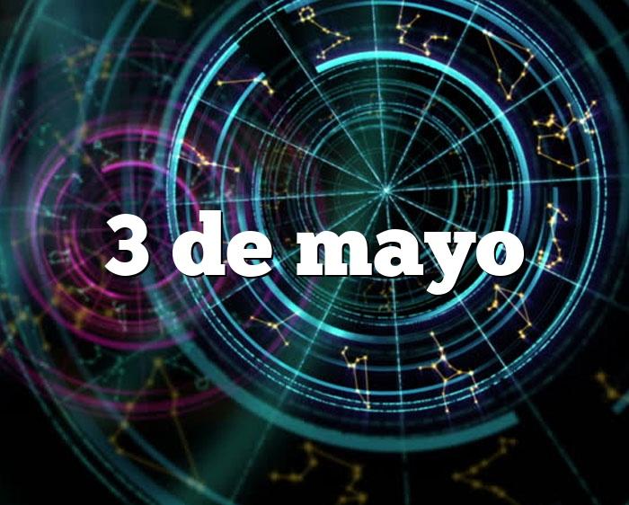 3 de mayo